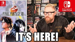 FINAL FANTASY VIII REMASTER REVIEW - Happy Console Gamer
