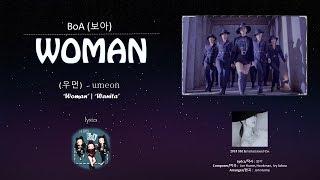 BoA(보아)   WOMAN(우먼) Lyrics   Han | Rom | English | Indo Sub