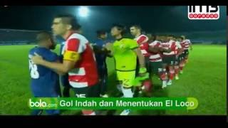 Arema Vs Madura United 21  All Goals & Highlights TSC 2016