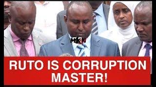 RUTO IS A MASTER OF CORRUPTION!HIS TANGATANGA TEAM PLANS TO IMPEACH PRESIDENT UHURU!KIELEWEKE SAYS!