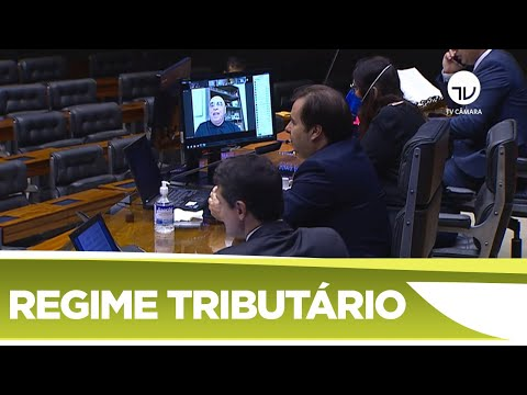 Plenário aprova regime tributário emergencial durante pandemia - 01/04/20
