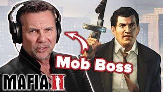 Ex-Mob Boss Plays Mafia 2 • Professionals Play