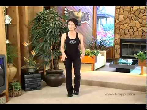 T-Tapp Walking Workout to Step Away The Inches -- Tone Your Whole Body and Burn Fat Faster