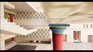 3d Live in Knossos city flipped prof educational 3d creations