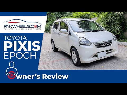 Toyota Pixis Epoch | User Review | PakWheels