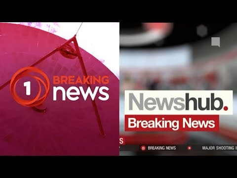 Christchurch Shooting: Initial Breaking Coverage on 1 News & Newshub. - 15th March 2019