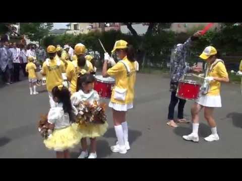 2016 町内祭礼パレード? 六浦中学校〜睦旧道消防前
