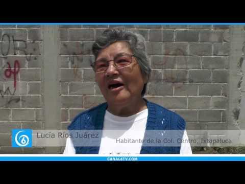 Inicio de electrificación de calles en la colonia centro de Ixtapaluca
