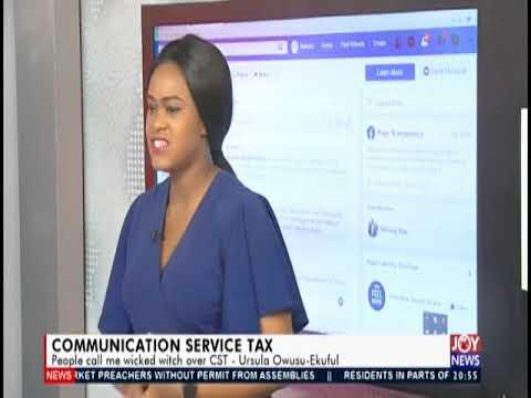 Communication Service Tax - Joy News Interactive  (15-10-19)
