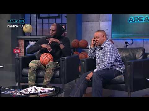 AREA 21 - KG chops it up with Nate Robinson, Earl Boykins & Spud Webb