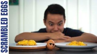 How To Cook Perfect Fluffy Scrambled Eggs   2 Ways | Jono Ren (Episode 5)