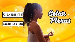 UNBLOCK THE 3RD CHAKRA/ [CONFIDENCE BOOSTING] SOLAR PLEXUS GUIDED MEDITATION/
