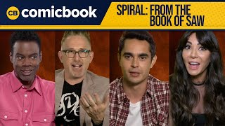 Spiral: From The Book of Saw Cast Interview (Chris Rock, Max Minghella, Marisol Nichols) by Comicbook.com