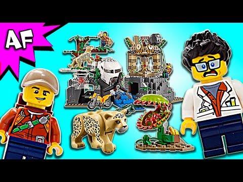 Vidéo LEGO City 60161 : Le site d'exploration de la jungle