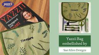 Yazzii CA305 personalized by Sue Allen   Yazzii Craft Bags   Inspirational Ideas