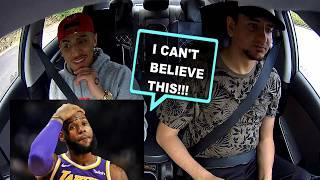 Uber Passenger SHOCKED By Rapping Uber Driver!(Rider Raps Back)