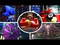 Sonic The Hedgehog 4 Episode 1 amp 2 All Bosses no Dama