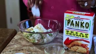 Easy Crunchy Crab Cakes