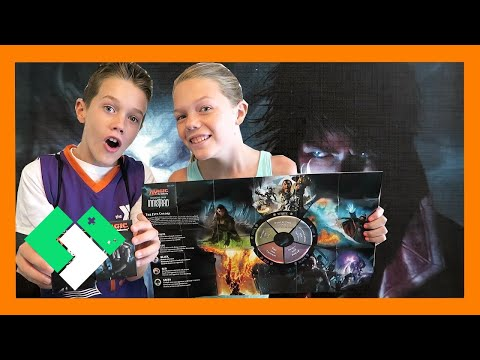 KIDS BUILD FIRST MAGIC THE GATHERING DECKS (Day 1561)