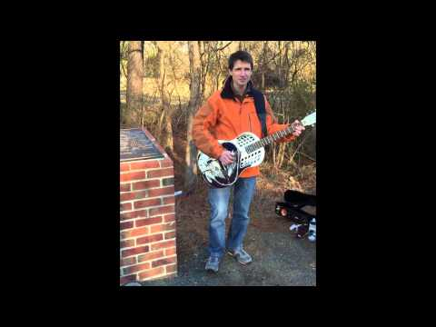 """I'm a Rattlesnakin' Daddy"" at Blind Boy Fuller's gravesite"