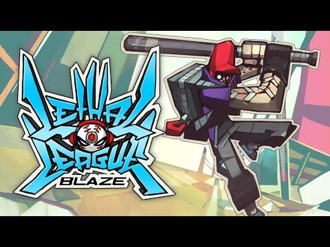 Lethal League Blaze Console Trailer [Switch, PS4, XB1] de Lethal League Blaze