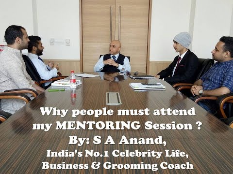 Why people must attend my Mentoring Session?