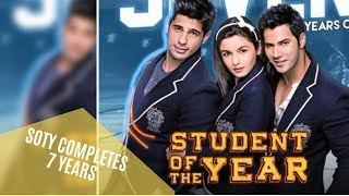 SOTY Completes 7 years: Karan Johar Pens Down An Emotional Note | SpotboyE