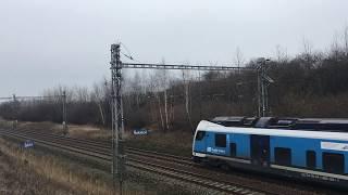 Průlety 160km/h - Vlaky Šakvice, 2.02.2018