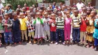 Jemo Children Singing Ethiopian Worship Song