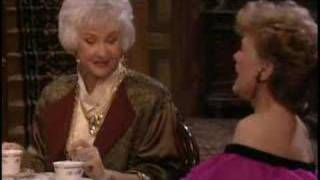 The Golden Girls ~ Blanche shares her views on flirting