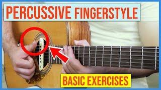 Leandro Kasan – Percussive Fingerstyle (Basic Exercises)