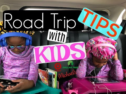 ROAD TRIP TIPS & HACKS WITH KIDS | THROUGH 4 STATES