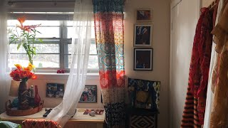 Hanging Curtains AFRO Bohemian Style!