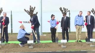 """Svečano otvaranje fabrike """"Yazaki"""" u Šapcu"""
