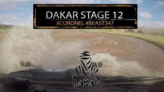 Stage 12 crushing rocks Coronel Dakar 2018