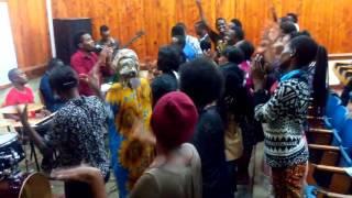 PCASF Praise Team Wakifanya Mazoez Chuon IAA