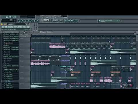 4x4 Bassline Tutorial With FL Studio And NI Massive - смотреть
