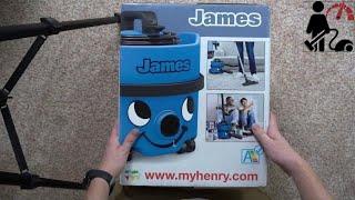 Numatic James Unboxing - Commercial Vacuum Cleaner Review