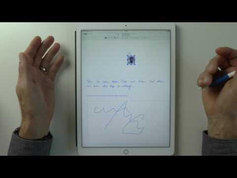 Papierloses Büro: Handschrift auf dem iPad - GoodNotes vs MyScript Nebo