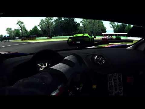 rFactor2 McLaren GT3 Laguna Seca VR Oculus - смотреть онлайн