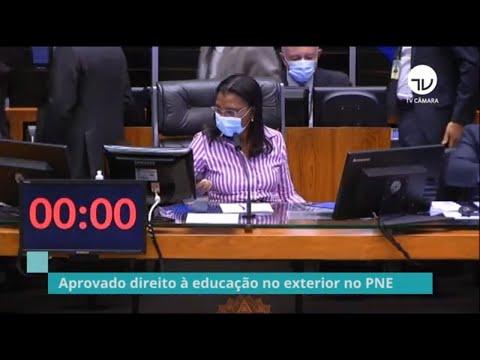 Aprovado direito à educação no exterior no PNE - 17/06/21