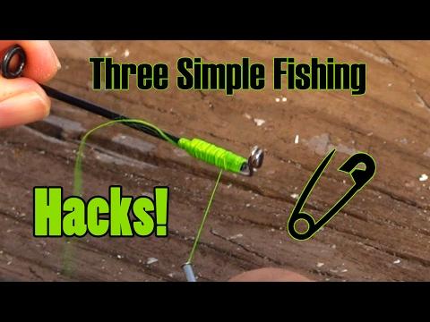 Top Three Fishing Hacks! – Simple & Sweet