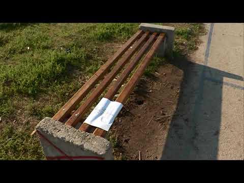 Popravljene klupe koje su nepoznati počinioci polomili u Rasadničkoj ulici