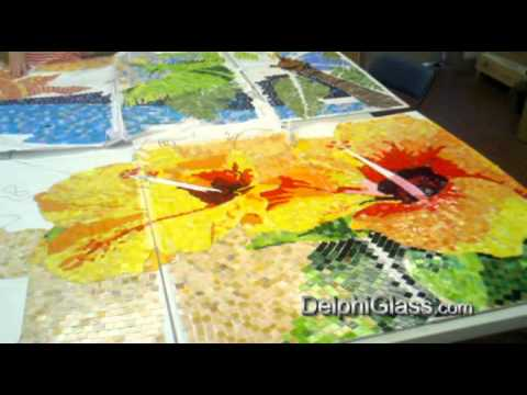 2011 St. Petersburg Community Mosaic Mural Project | Delphi Glass
