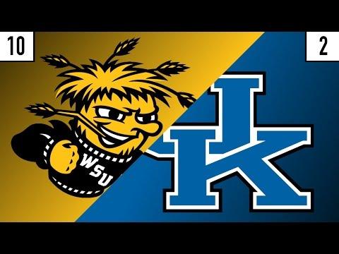 10 Wichita State vs. 2 Kentucky Prediction | Who's Got Next?