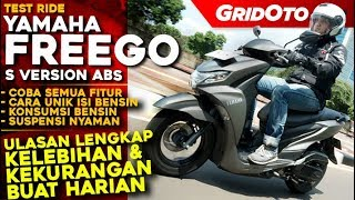 Yamaha FreeGo S ABS 2019 L Test Ride Review L Gridoto