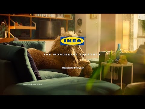 Ikea ad lion man tv advert 60 wonderfuleveryday for Ikea commercial 2017