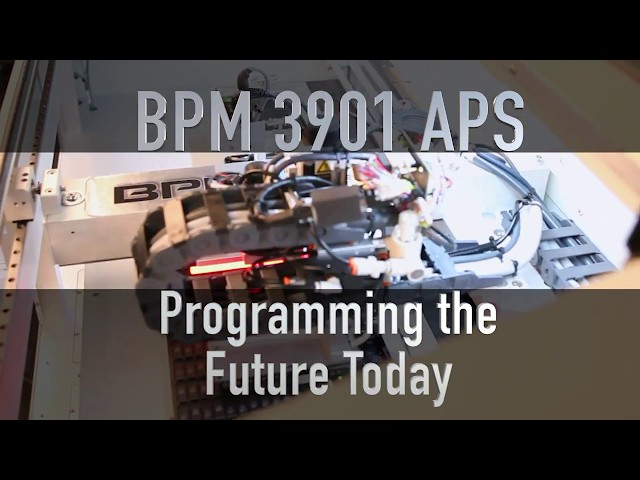 BPM Microsystems Launches Sub-$90K Automated Programming System