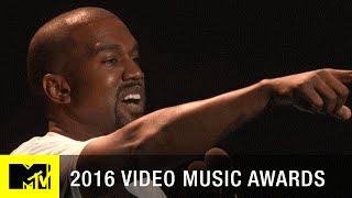 Kanye West Moment | 2016 Video Music Awards | MTV