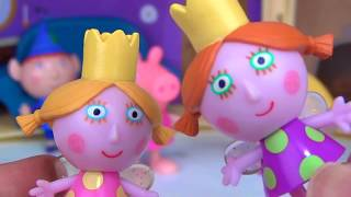 LITTLE KINGDOM Ben and Holly Little Castle & Bedtime Toy Hunt Pajama Party